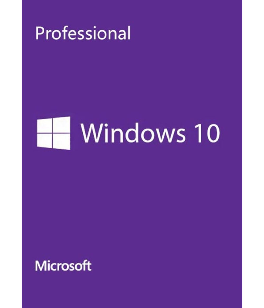 Microsoft Windows 10 Pro 1 License KEY GLOBAL